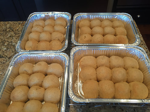 Whole Wheat Dinner Rolls (12 per pan)