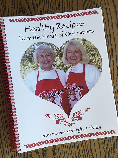"""Healthy Recipes"" Cookbook"