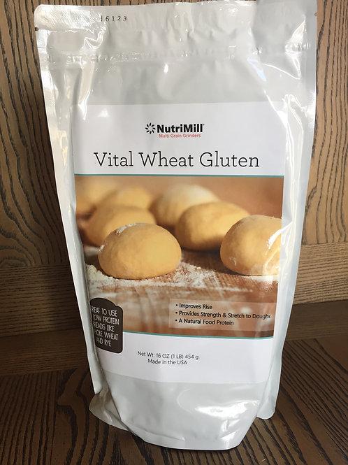 Vital Wheat Gluten (16 oz.)