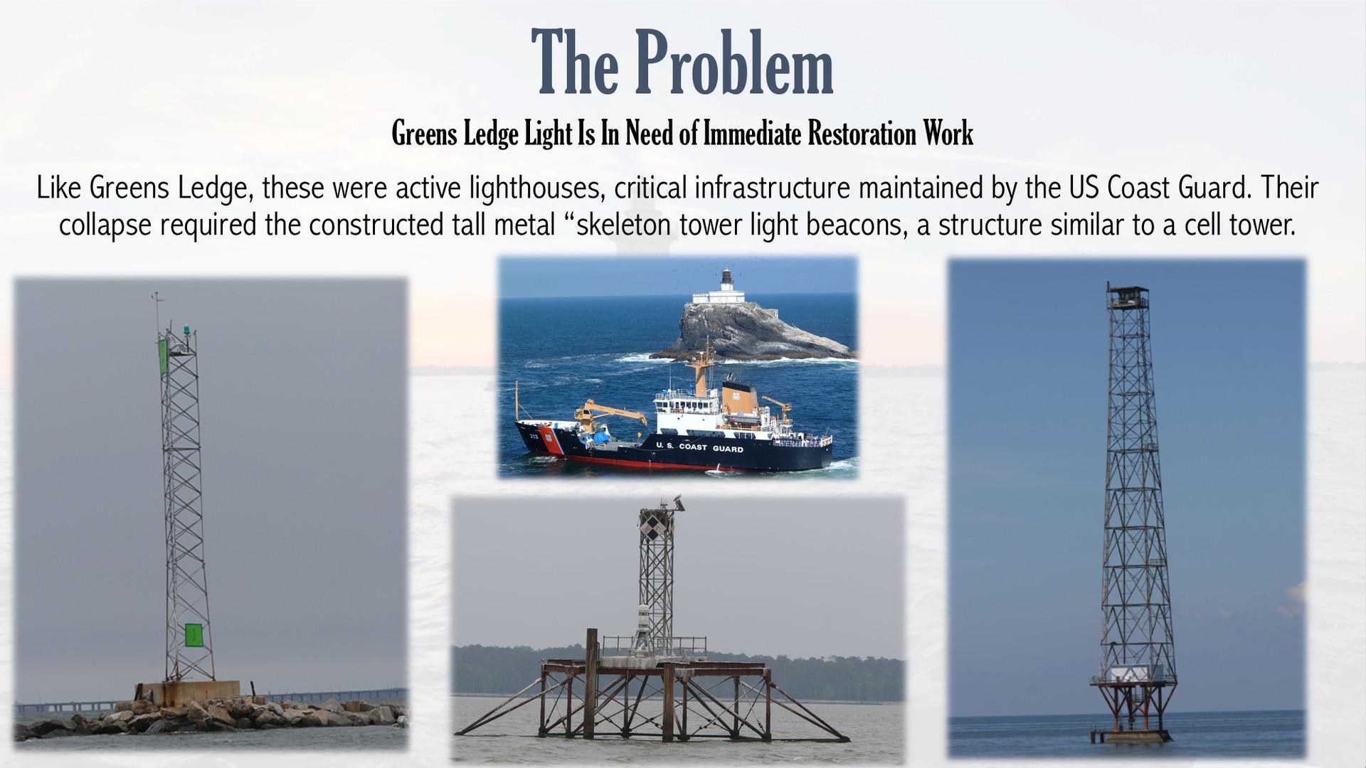 Greens Ledge Lighthouse
