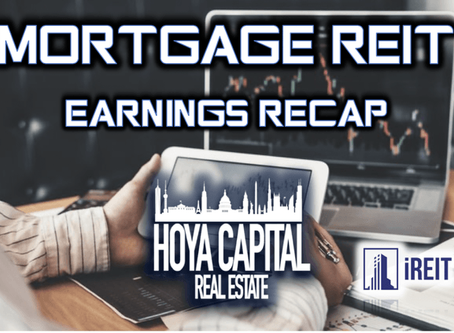 Mortgage REITs: Earnings Recap