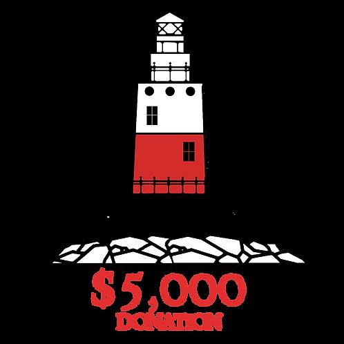 $5,000 Donation: Captain