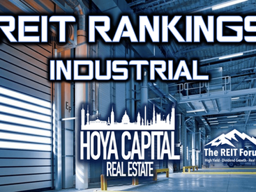 Industrial REITs: Who Doesn't Love Logistics