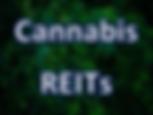 Cannabis REITs