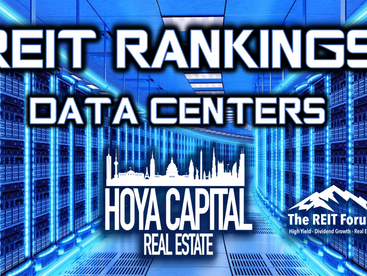 Data Center REITs: Cloud Keeps Growing