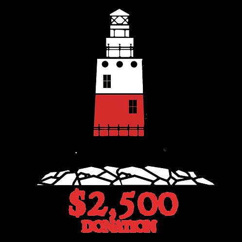 $2,500 Donation: Commander