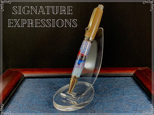 Custom Logo Real Frac Sand Pen set