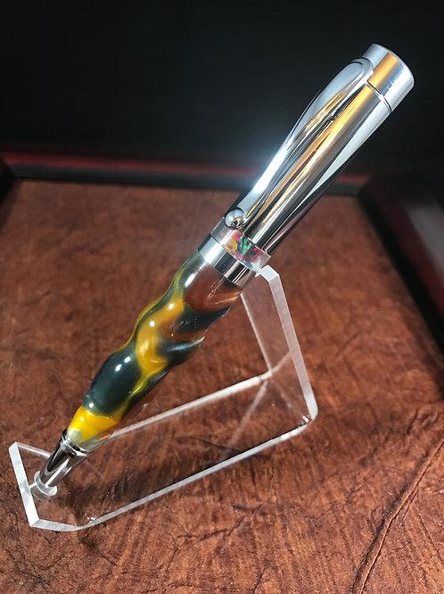 Molten metal kaleidoscope pen