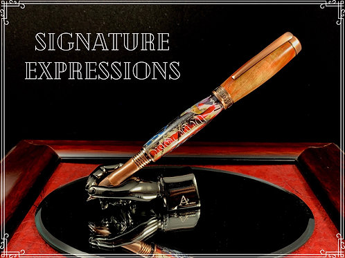 Custom Independence Pen with Display Stand