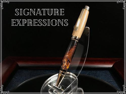Stunning Oilfield Themed Real Frac Sand Pen