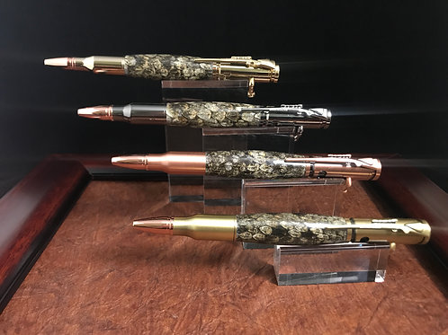 Rattlesnake Skin Bolt Action Rifle Pen