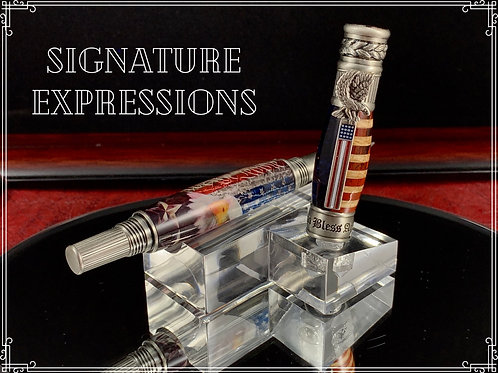 Major General Tribute Pen with Display