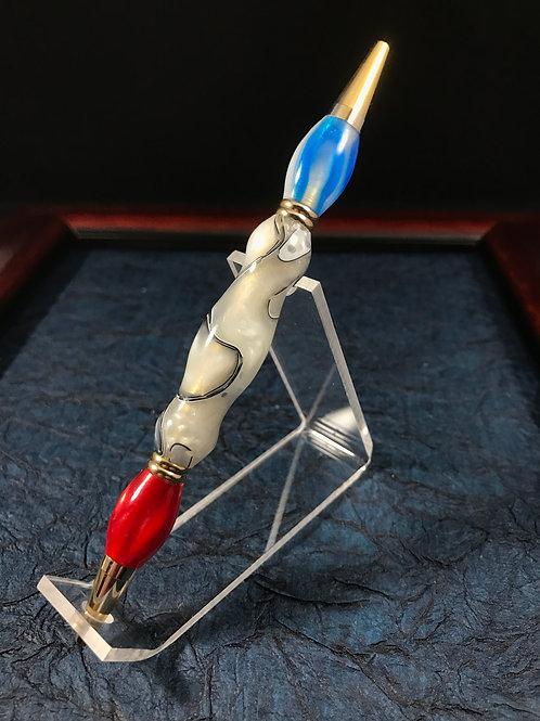Red & Blue Ink Teacher's Pen