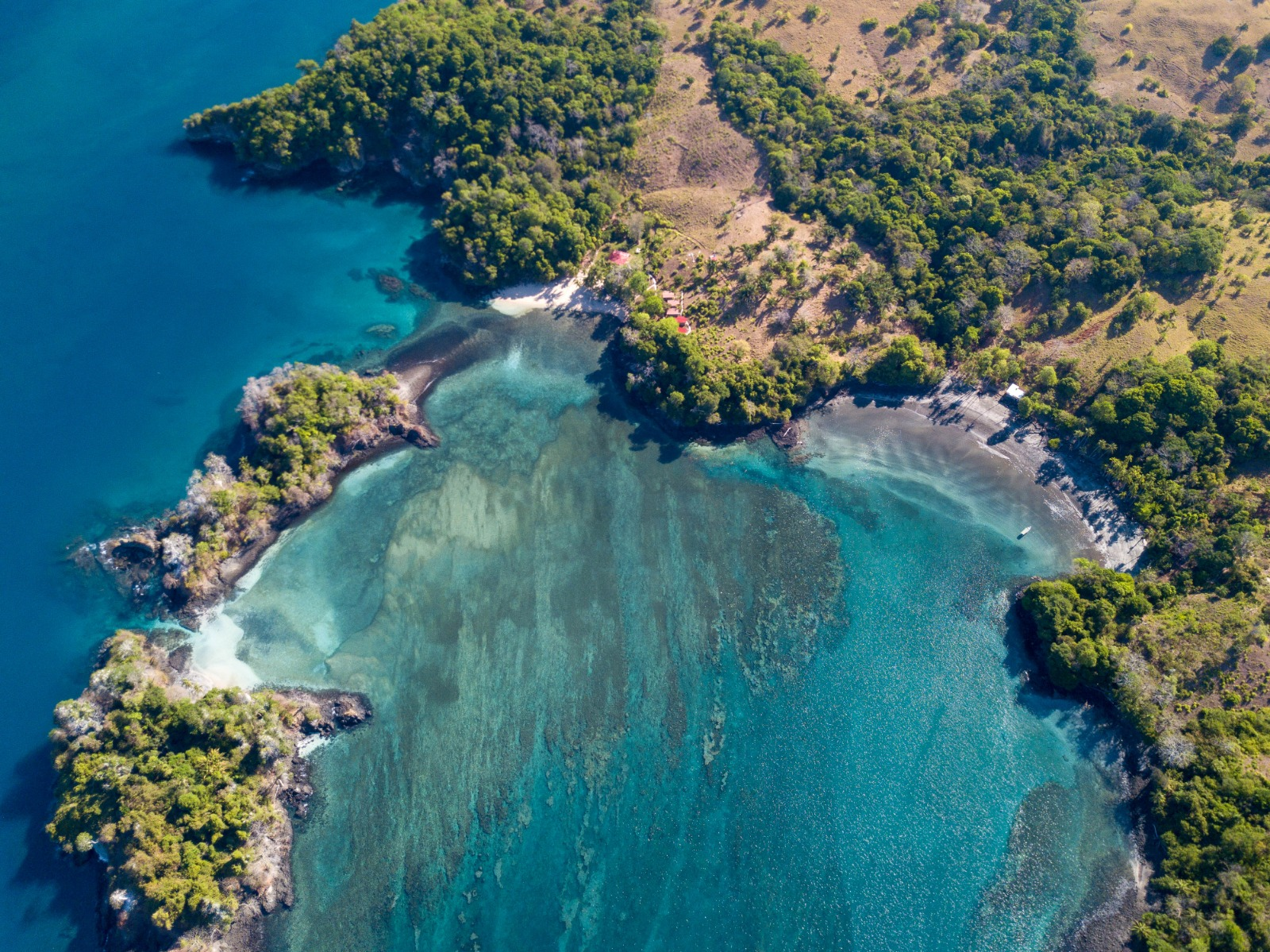 Punta Ballena aerial view