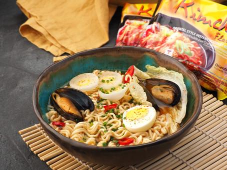 Готовим нескучные блюда из тайской лапши МАМА