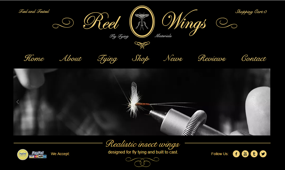 reel wings home page