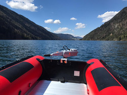 Tauchboot mit Torqeedo Motor
