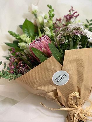Arranjo com flores frescas 'Árvore' / L - Escolha do florista