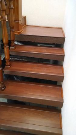 Laminado en escalera
