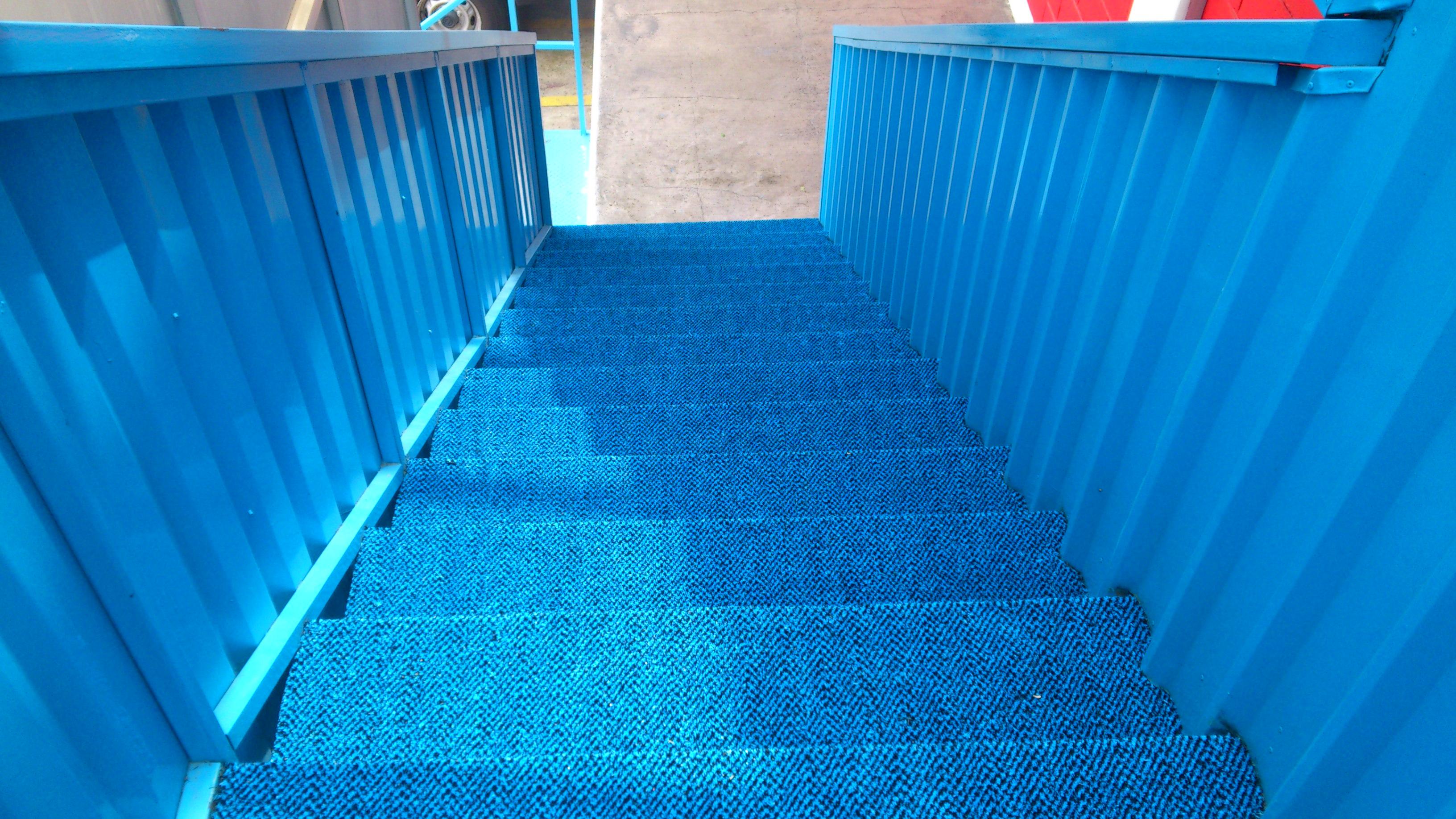 Pasto en escalera