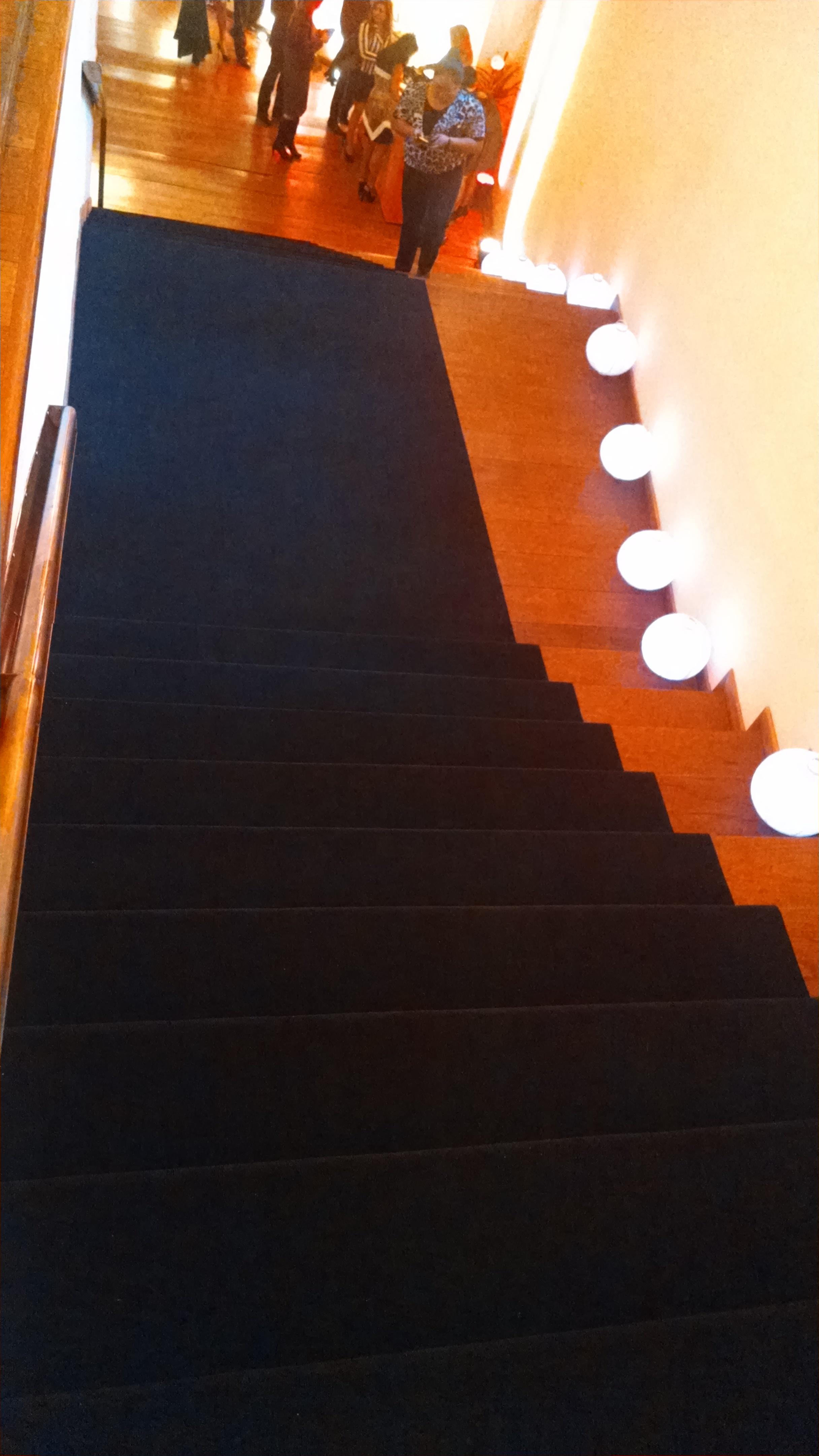 Tapete para escalera