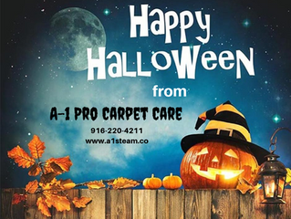 Happy Halloween from A-1 Pro Carpet Care