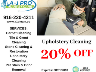 Upholstery Cleaning Special!