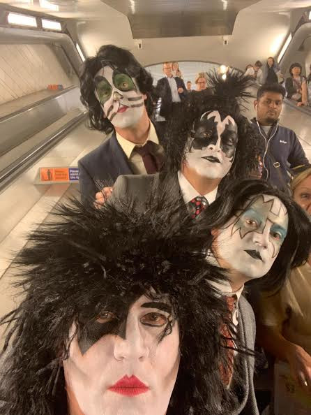 Kiss-Band-Makeup
