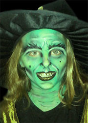 Witch-Facepainting