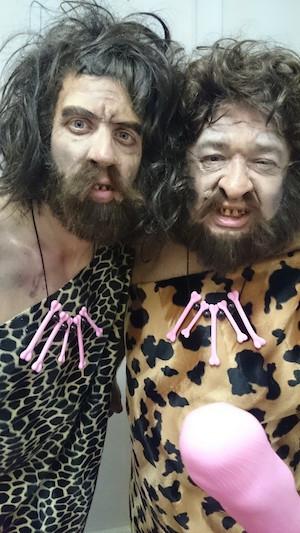 Caveman-Makeup