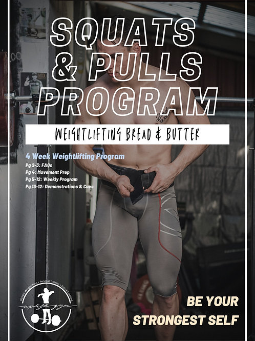 Squats and Pulls Ebook
