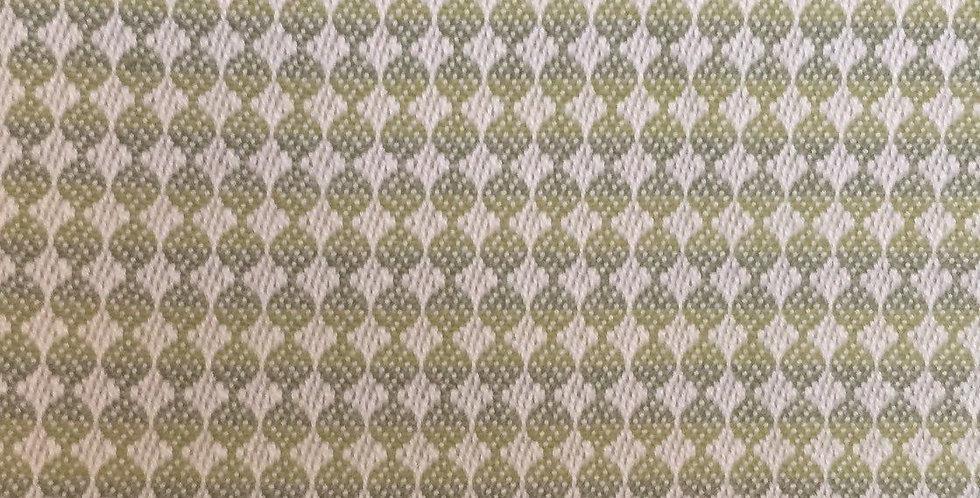 Dots - Blue/Green Fabric