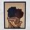 Thumbnail: Sweet Embrace Original Wooden Wall Art - Portrait of Love