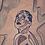 Thumbnail: Alicia Original Wooden Wall Art - Portrait of Black Beauty