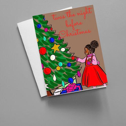Christmas Tree - Christmas Card