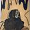 Thumbnail: Low Puff Original Wooden Wall Art - Portrait of Black Beauty