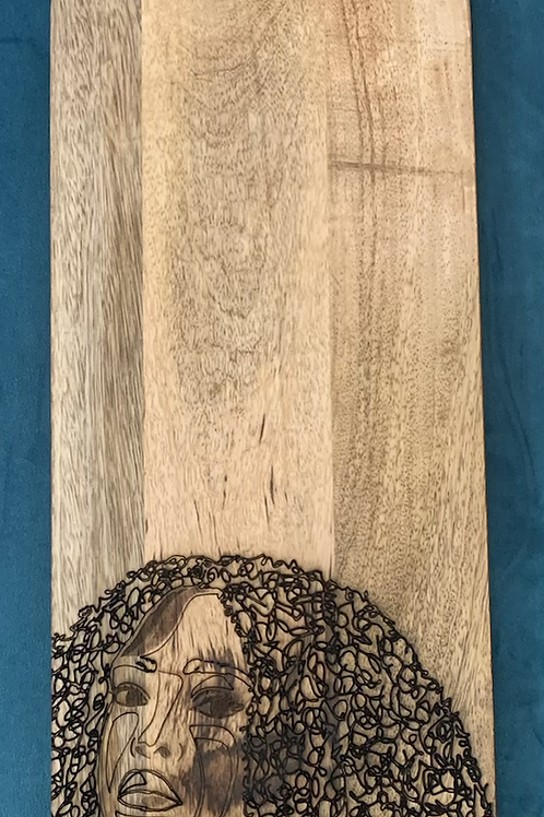 Hello Beautiful charcuterie board