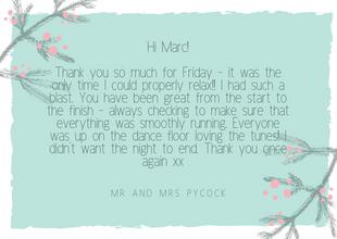 Mr and Mrs Pycock, Port Lympne.