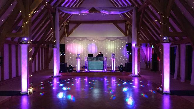 Premier Set up at The Old Kent Barn