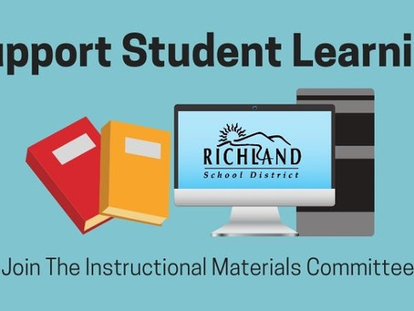 Join the Richland School District Materials Committee