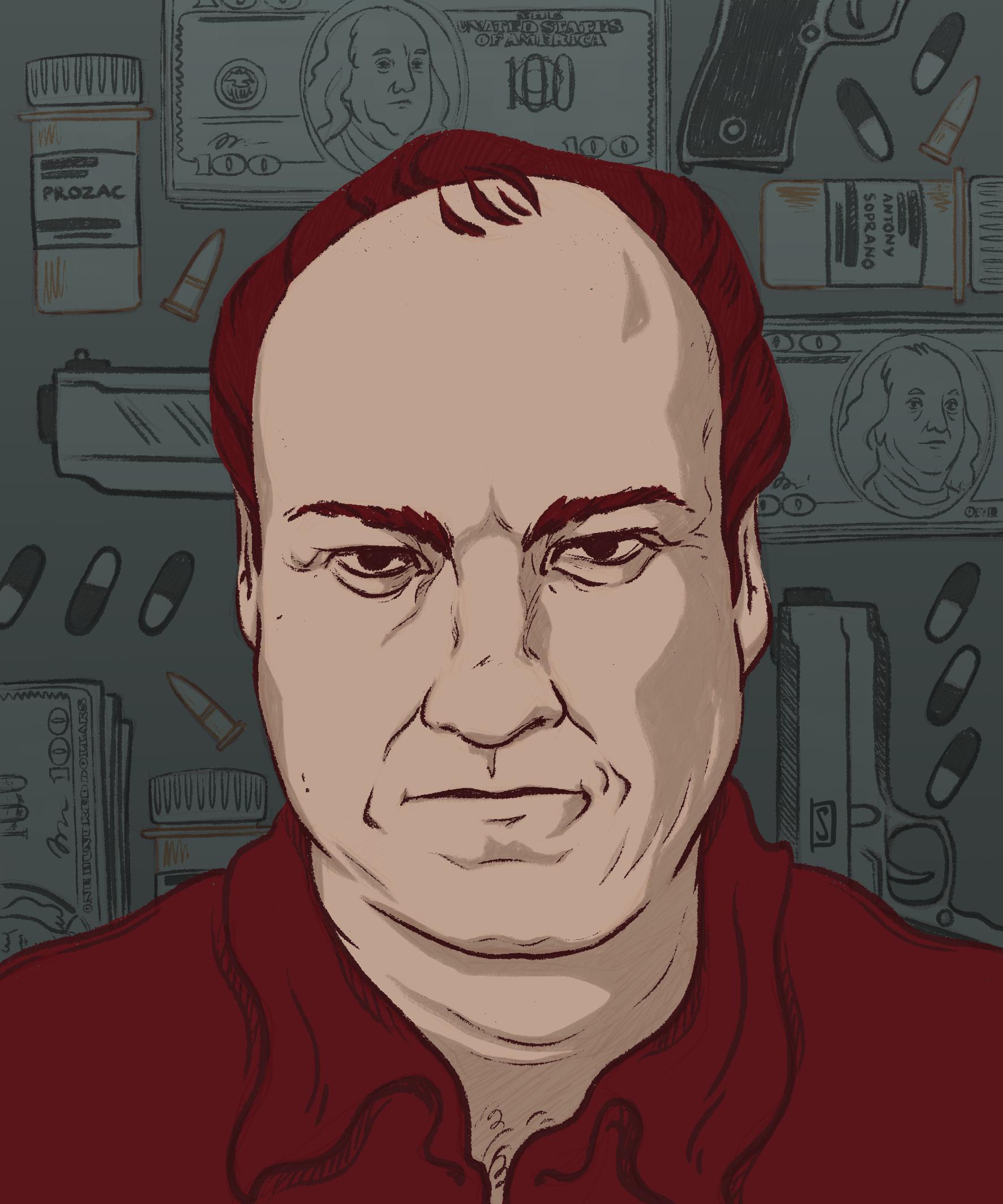 Antony Soprano portrait