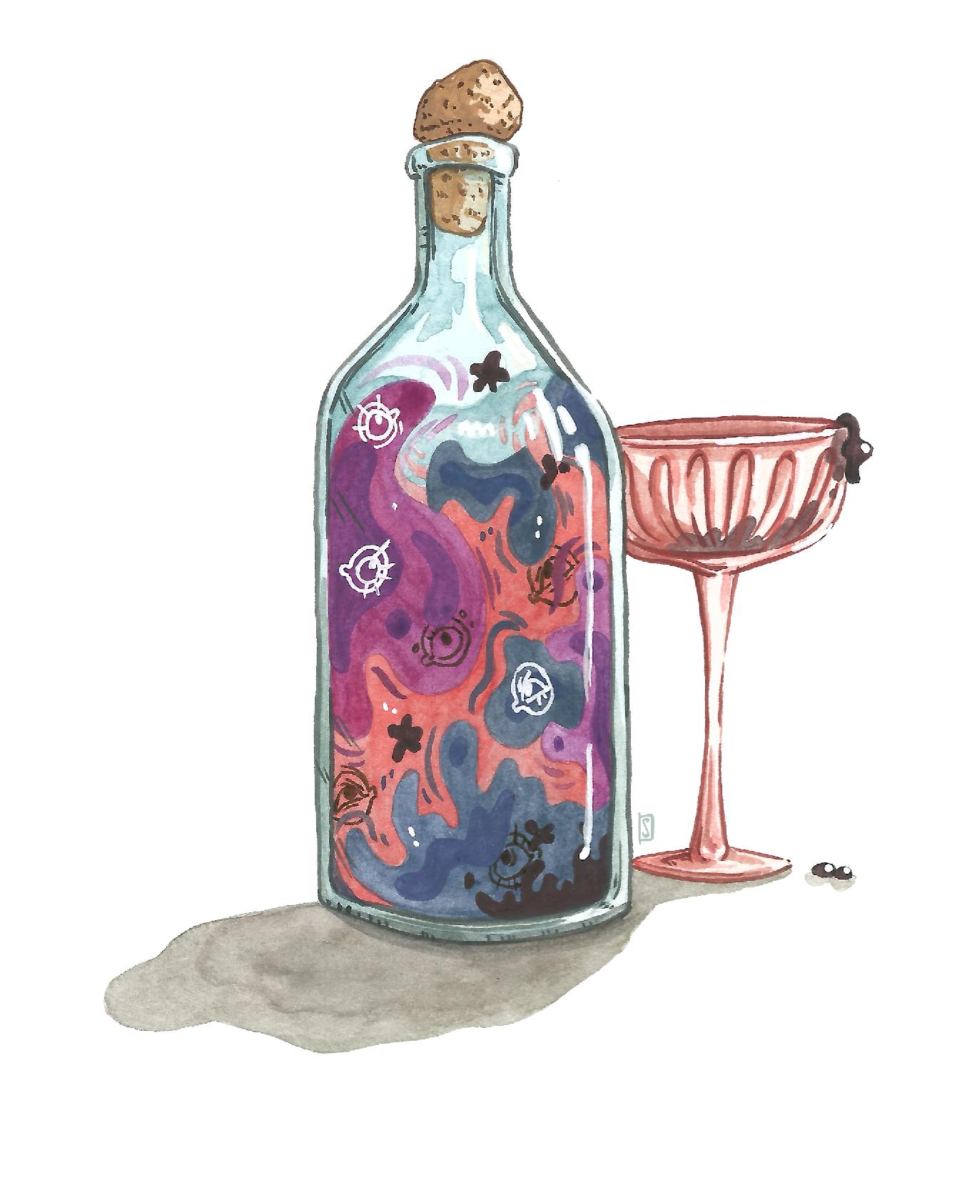 Alcohol spirits