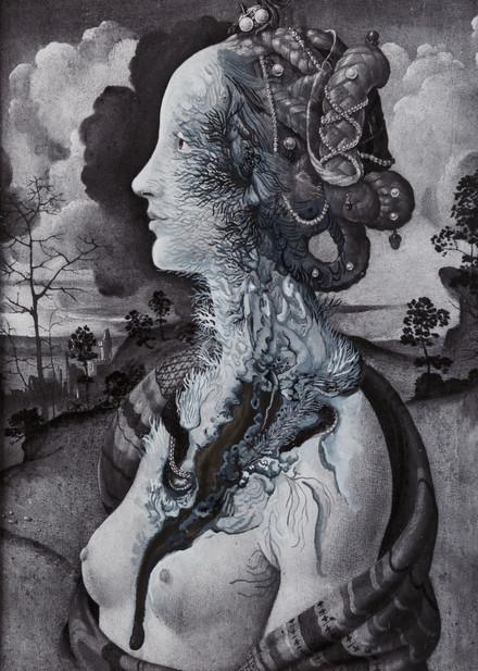 Cristallisation (portrait de Simonetta Vespucci)