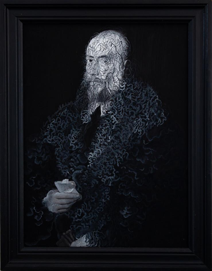 Cristallisation ( portrait d'un vieil homme)