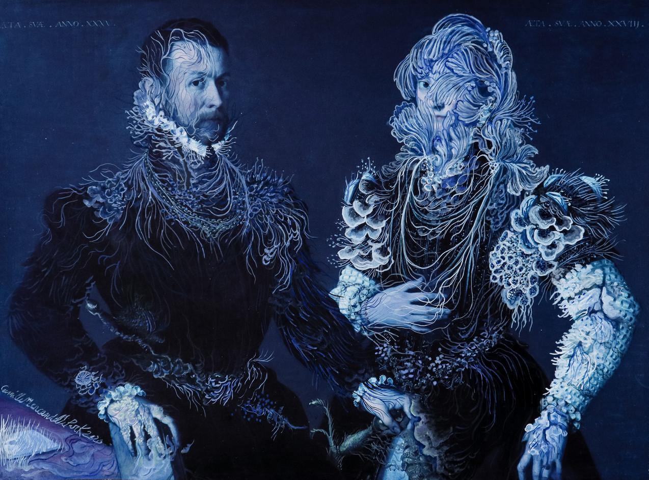 Cristallisation (portrait d'un couple)