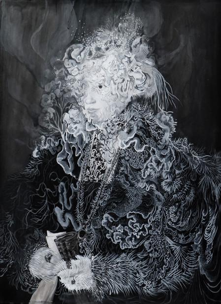 Cristallisation (Portrait de Maria Kitscher, Frau von Freyberg)