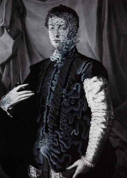 cristallisation(portrait of Lodovico Cap