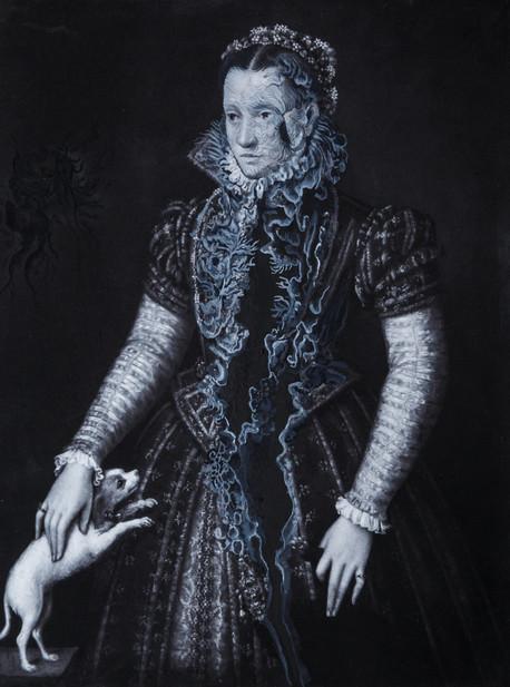 Cristallisation, (Portrait d'une femme noble)