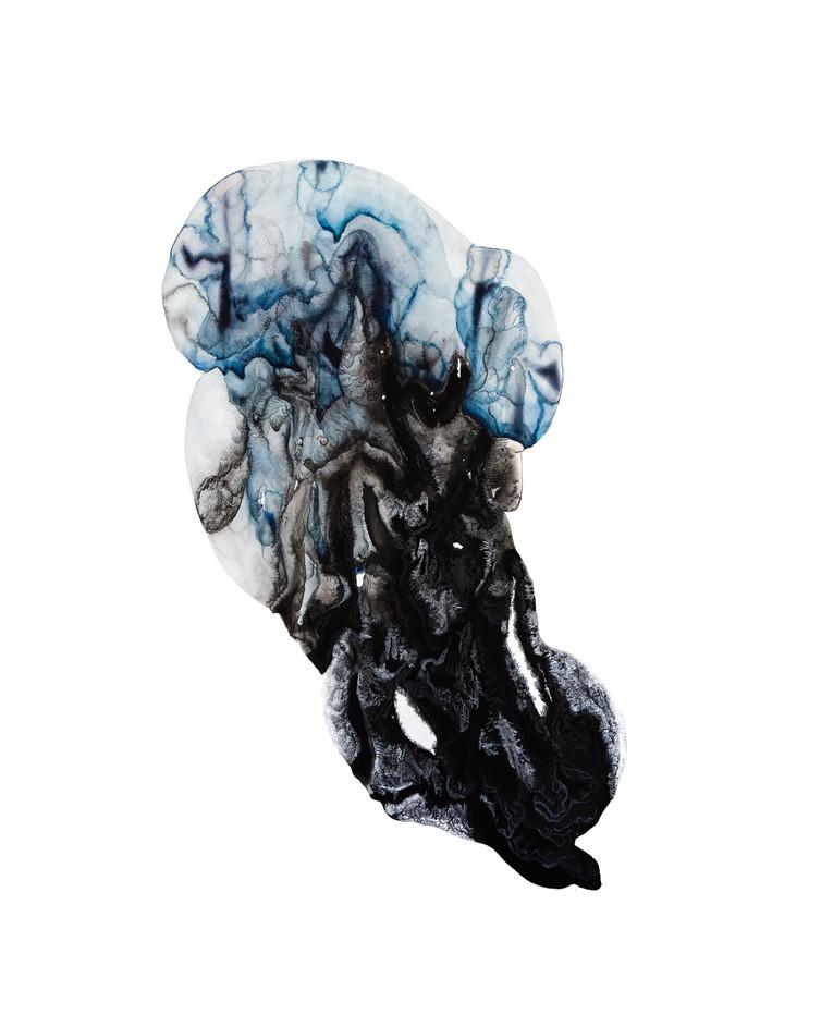 Grand Intérieur (bleu et noir)#3