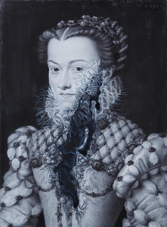 Cristallisation (Portrait d'Elisabeth d'Autriche)
